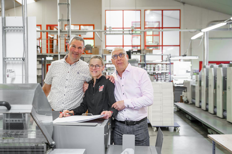 Team Drukkerij M. Janssens