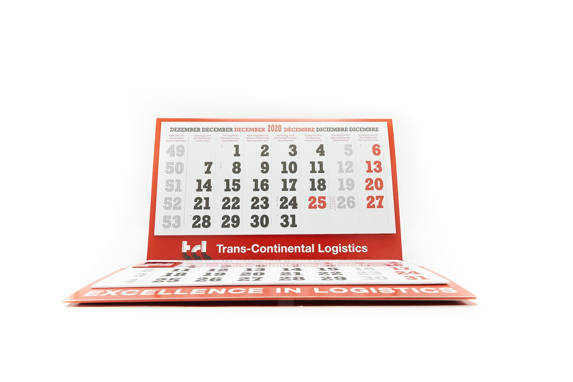 Kalenders door Drukkerij M. Janssens